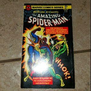 1977 Marvel Comics Stan Lee presents Spiderman 1-6